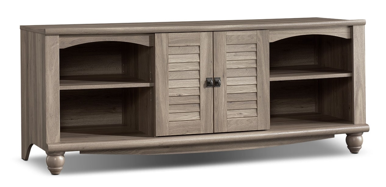 "Entertainment Furniture - Baytona 63"" TV Stand - Salt Oak"