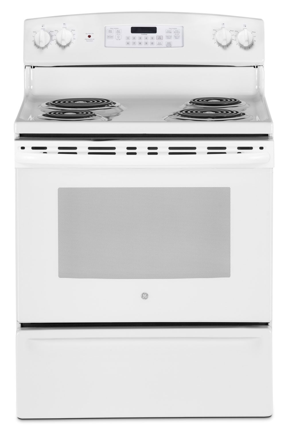 GE 5.0 Cu. Ft. Freestanding Electric Range – JCB530DJWW