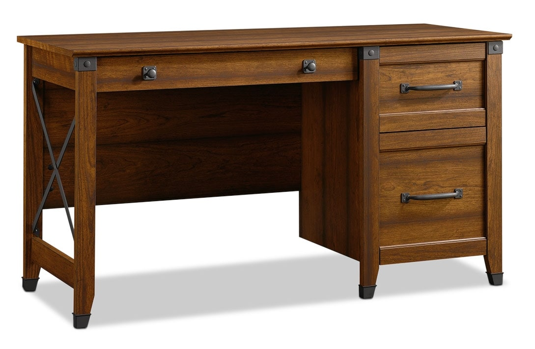 Carson Forge Desk – Washington Cherry