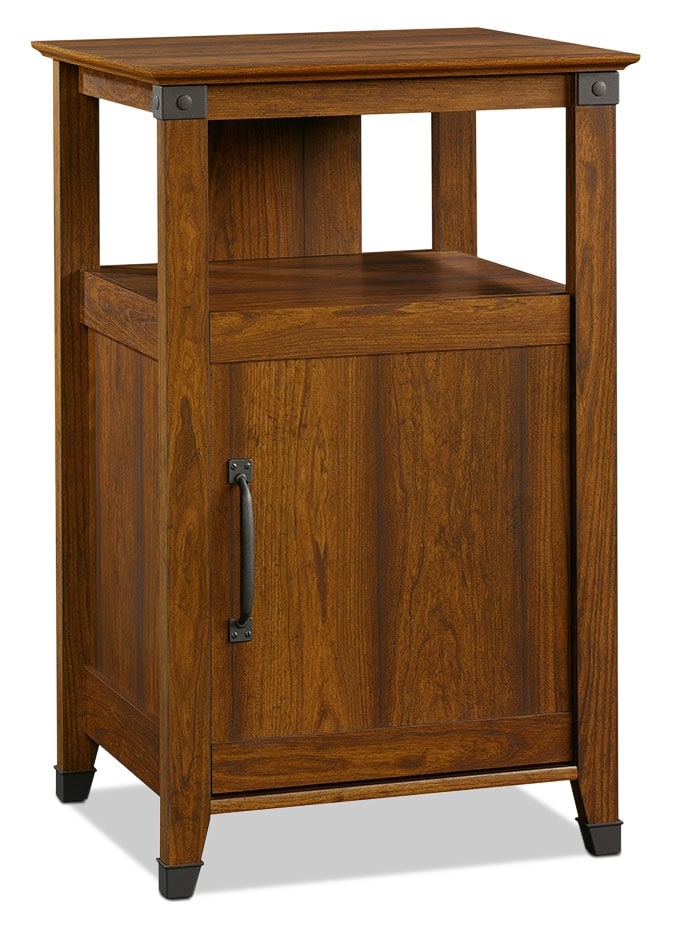 Carson Forge Accent Cabinet – Washington Cherry