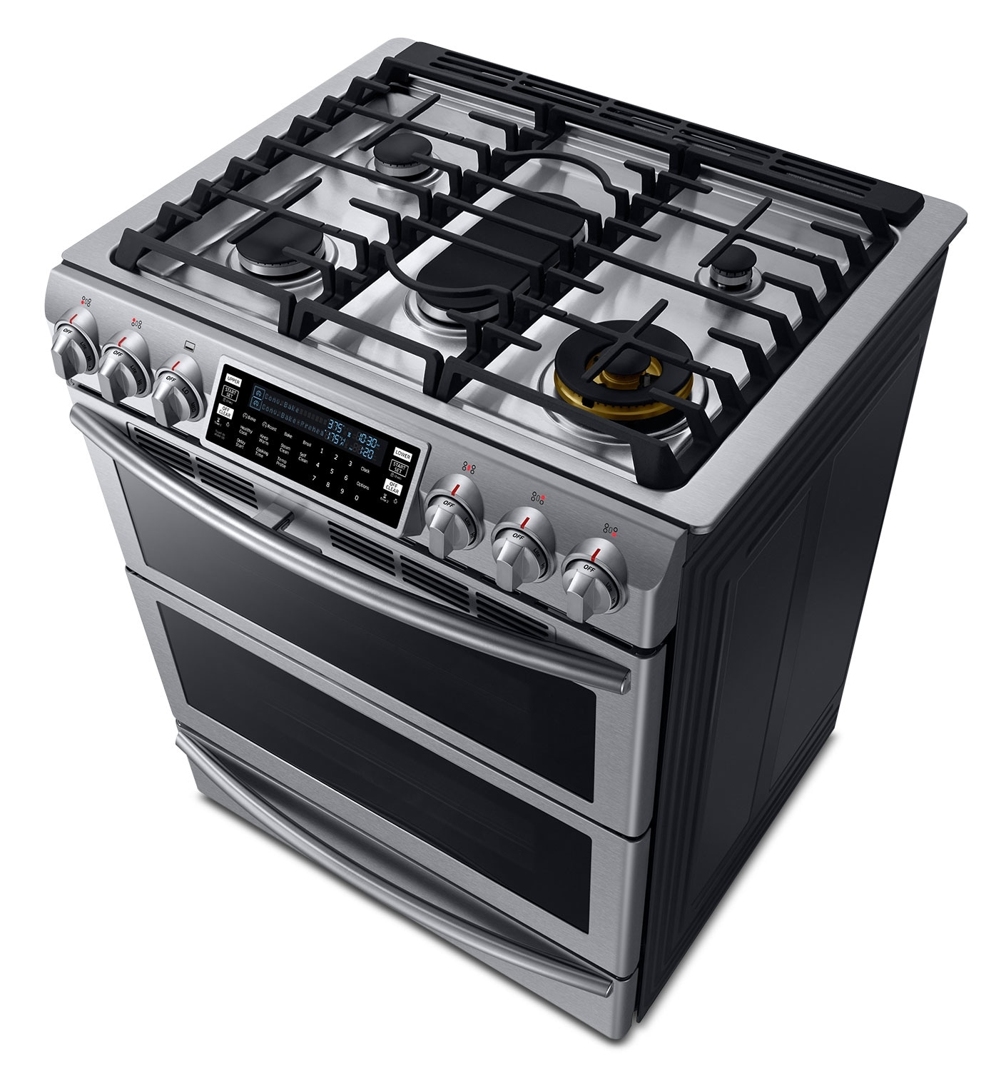 Why Dual Fuel Range Samsung Stainless Steel Slide In Dual Fuel Convection Range 58