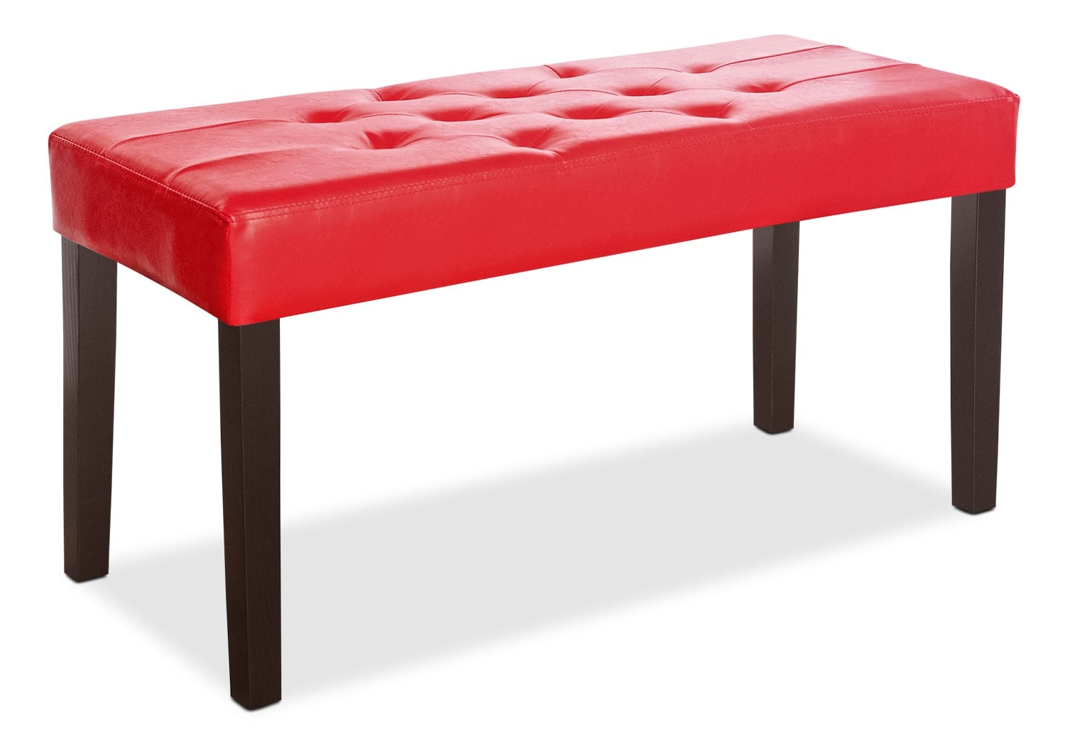 Accent and Occasional Furniture - Derby Bench – Red