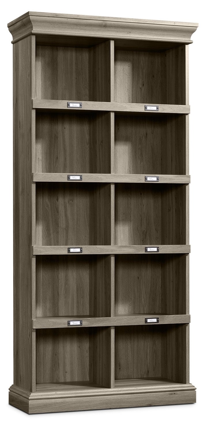Barrister Lane Tall Bookcase Salt Oak United Furniture Warehouse