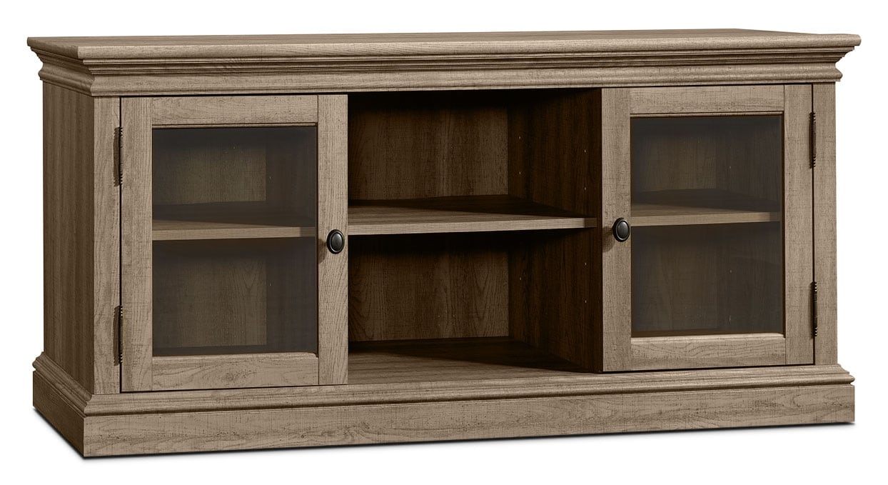 "Entertainment Furniture - Barrister Lane 51"" TV Stand – Scribed Oak"