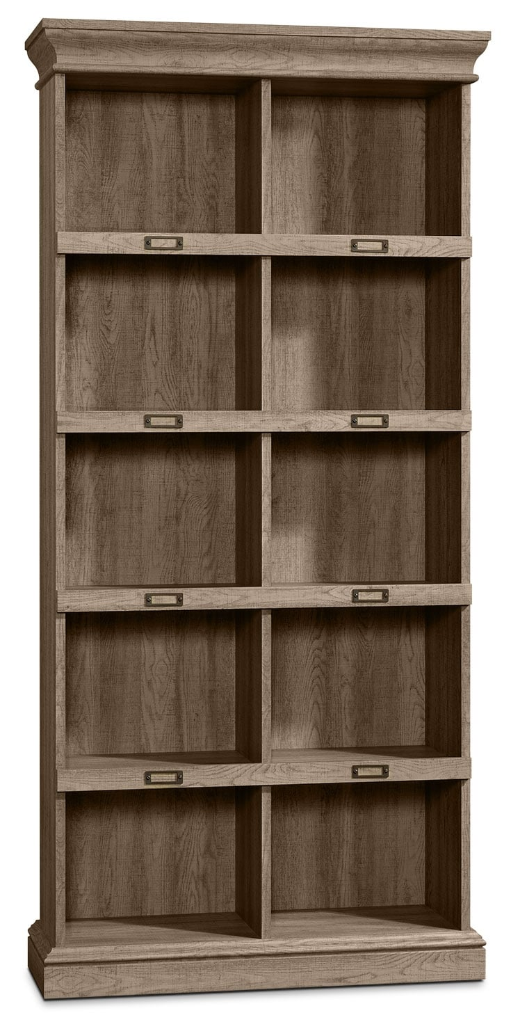 Home Office Furniture - Barrister Lane Tall Bookcase - Scribed Oak