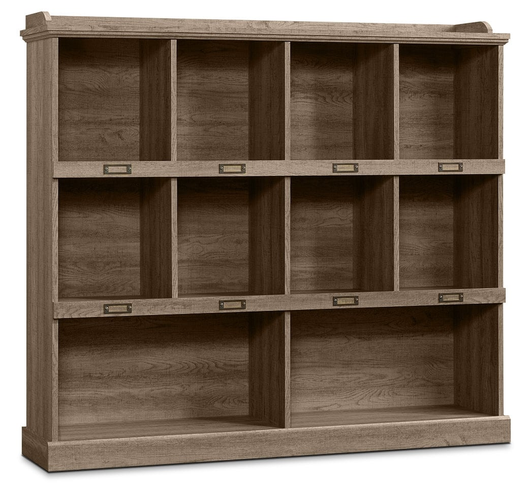 Home Office Furniture - Barrister Lane Wide Bookcase - Scribed Oak