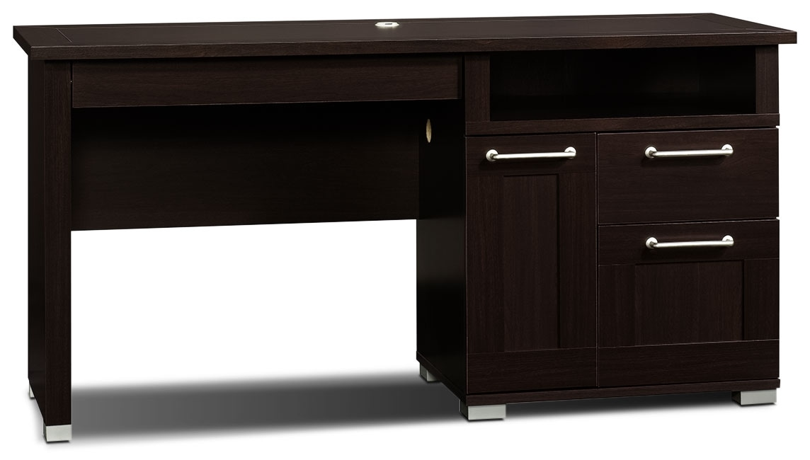 Home Office Furniture - Town Desk – Jamocha Wood