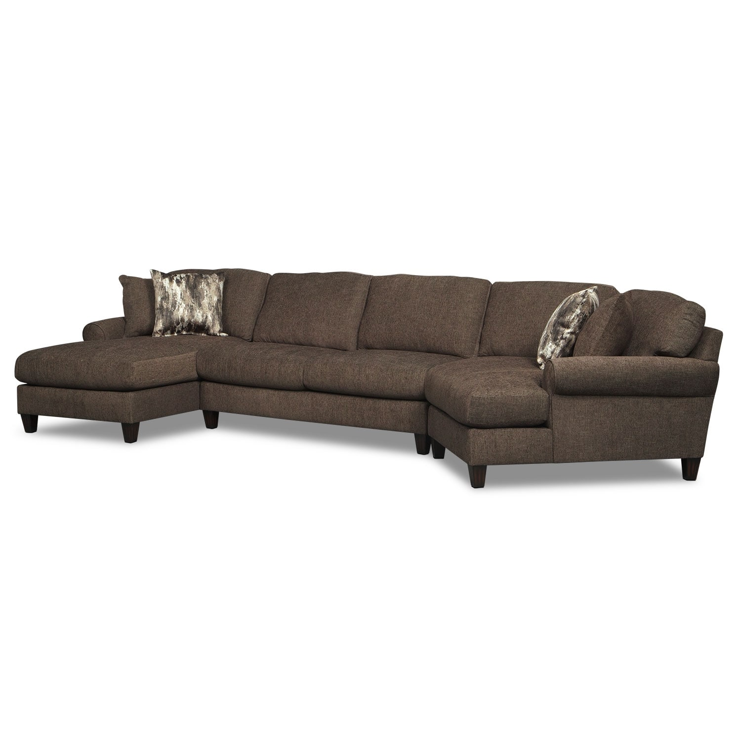 Image Result For Piece Sectional Sofa With Recliner