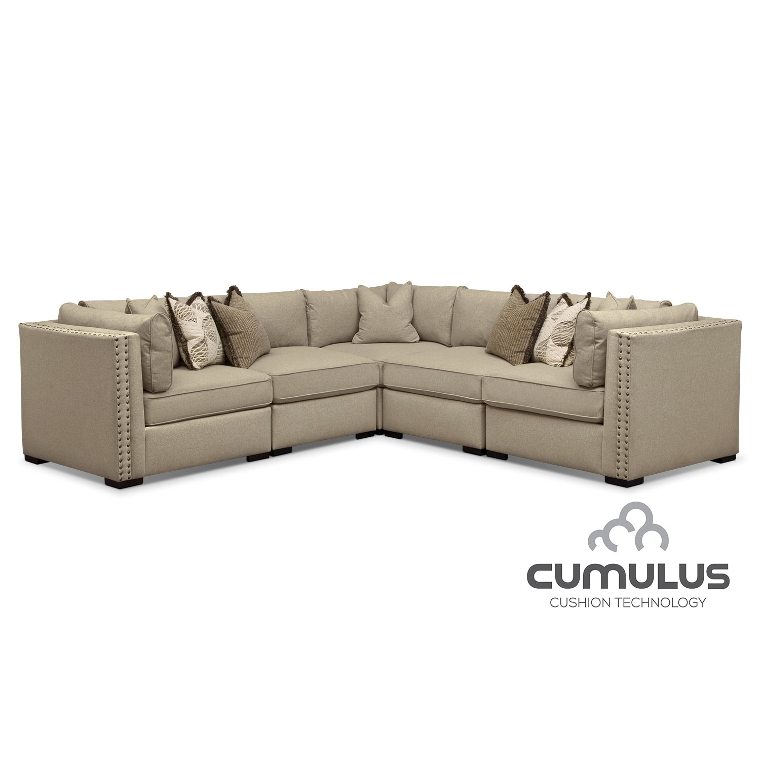 [Athens 5 Pc. Sectional]