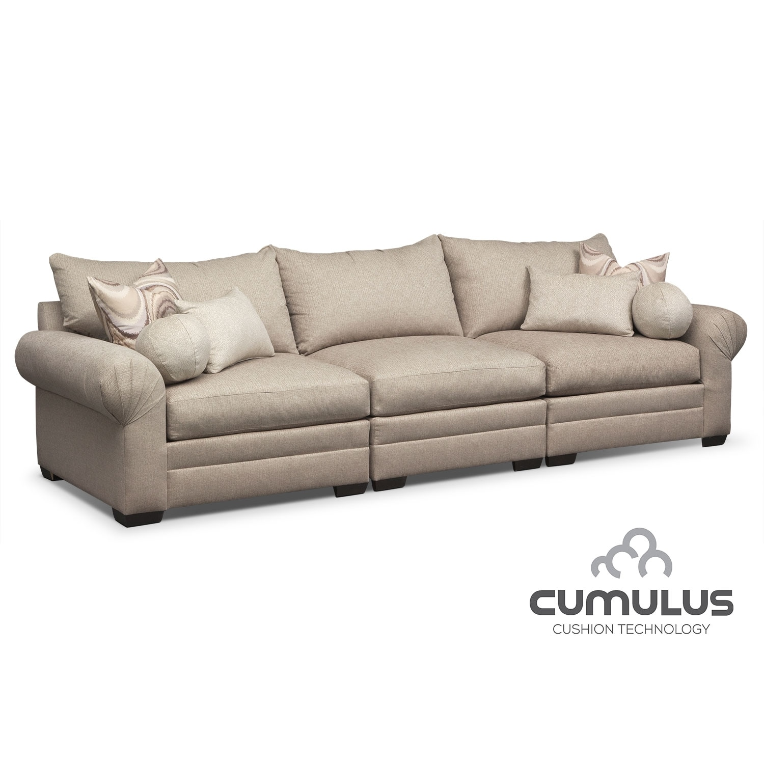 [Wilshire 3 Pc. Sectional]