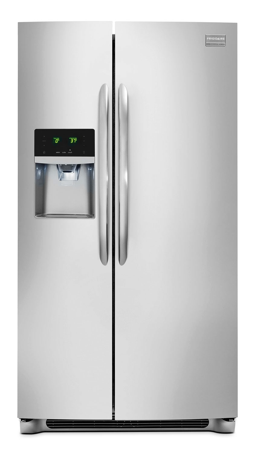 Refrigerators and Freezers - Frigidaire Gallery 23 Cu. Ft. Side-By-Side Refrigerator - Stainless Steel
