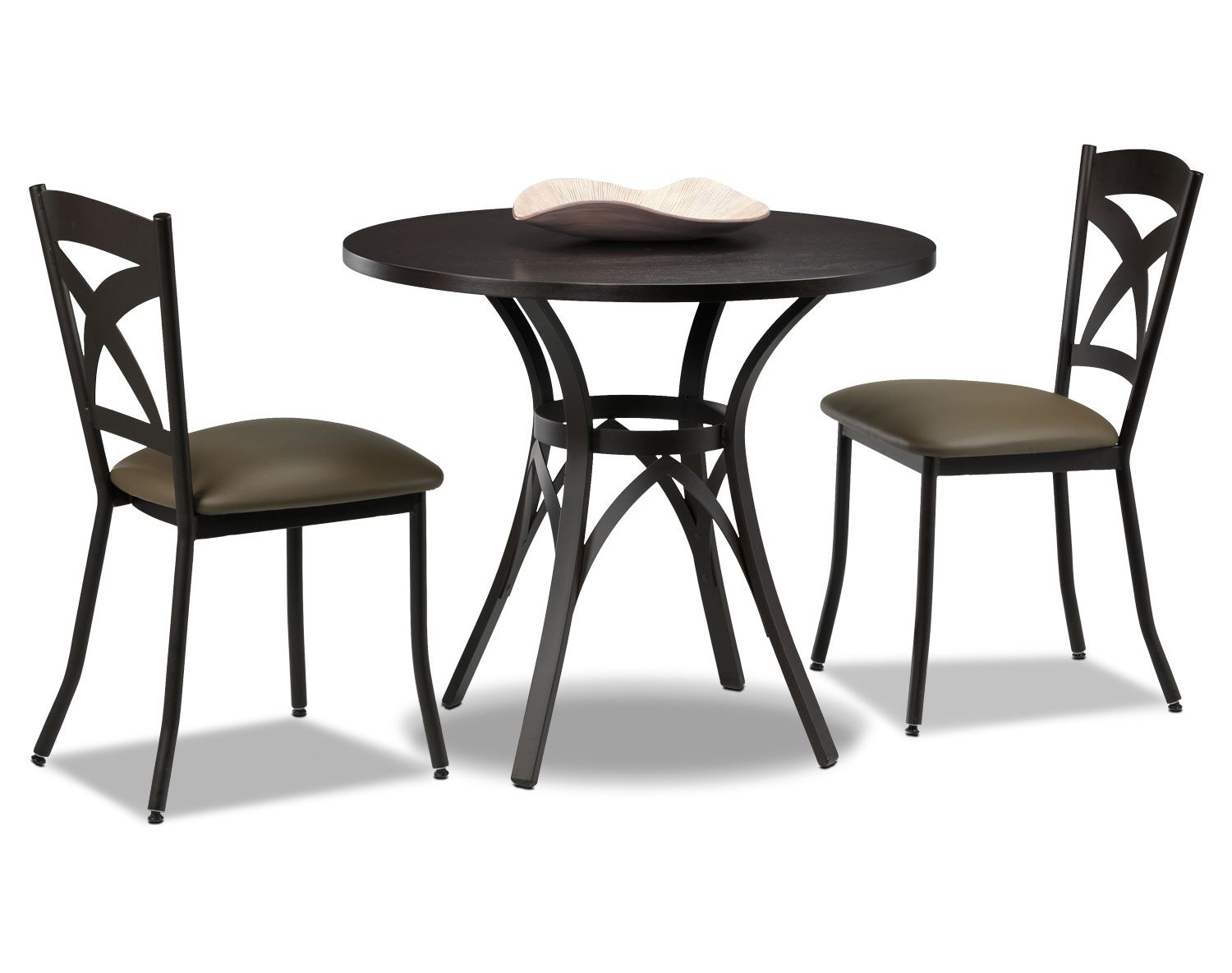 Kai 3-Piece Dinette Set - Brown