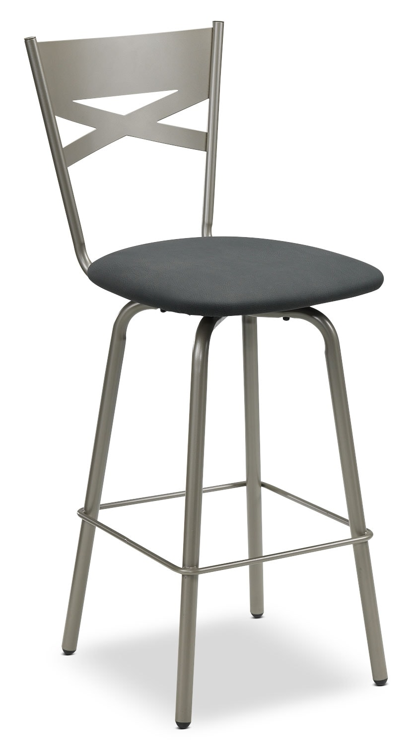 Lotus Swivel Barstool - Bronze