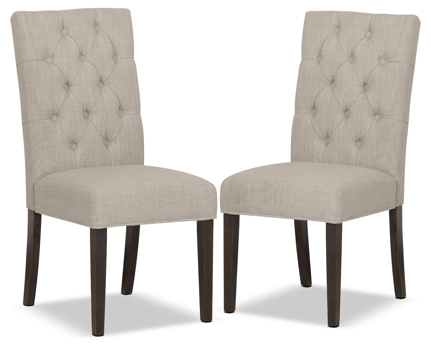 Caroline Side Chair, Set of 2 – Ivory