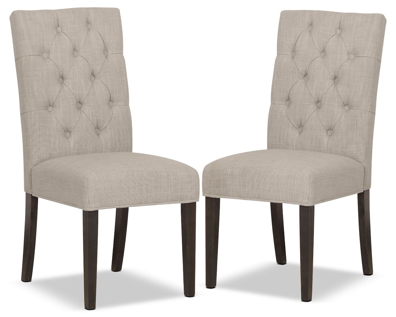 Dining Room Furniture - Caroline Side Chair, Set of 2 – Ivory