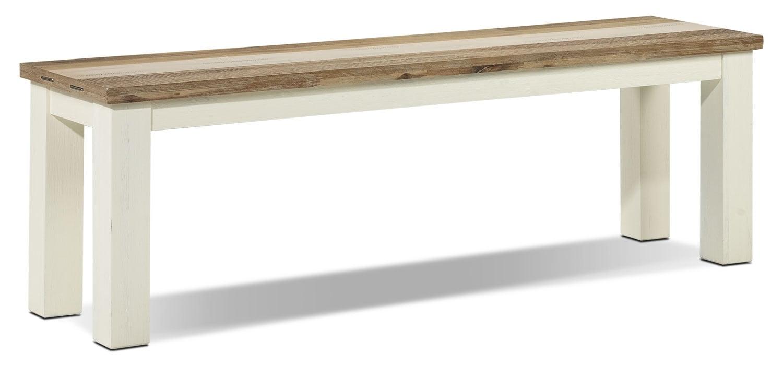 [Vintage Pine Bench]