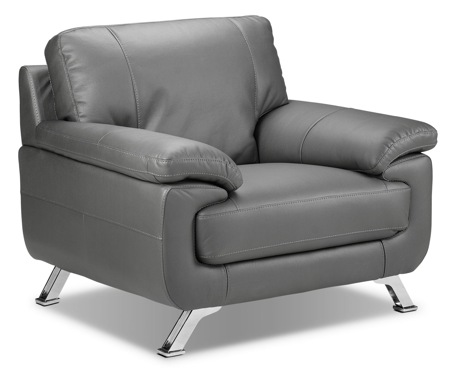 Living Room Furniture - Infinity Chair - Grey
