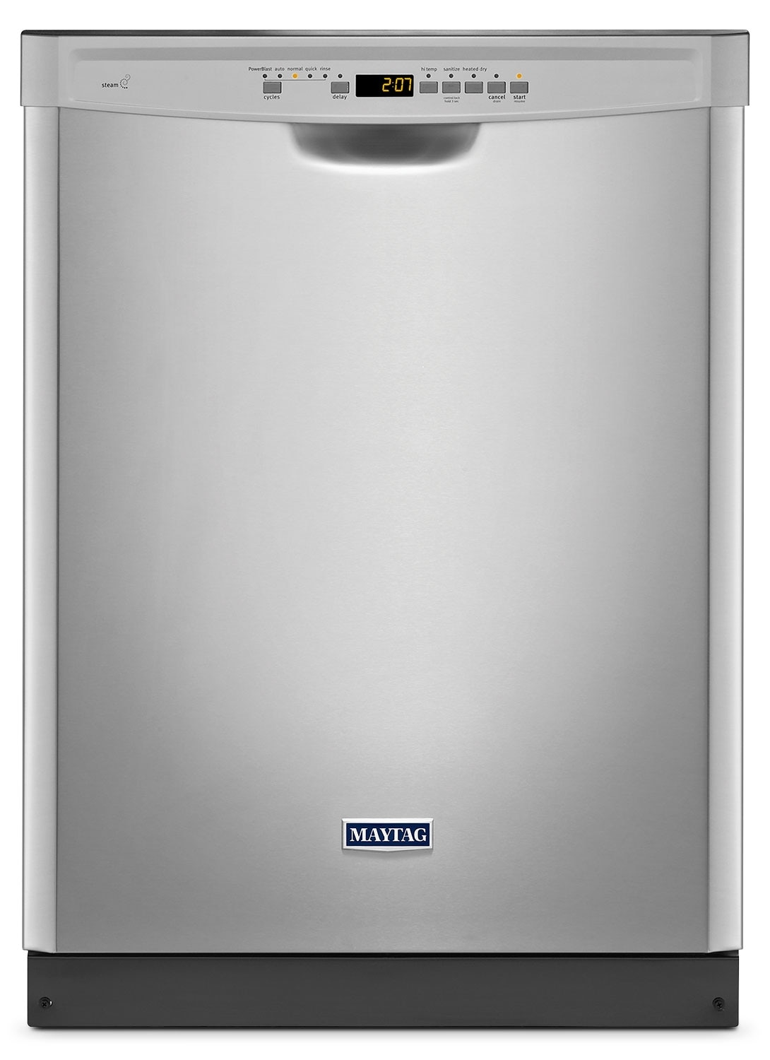 Clean-Up - Maytag® Large Capacity Built-In Dishwasher – Stainless Steel