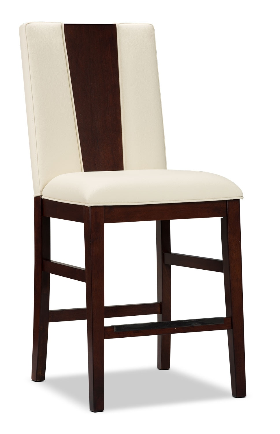 Zeno Counter Height Dining Chair Wood Back United Furniture Warehouse