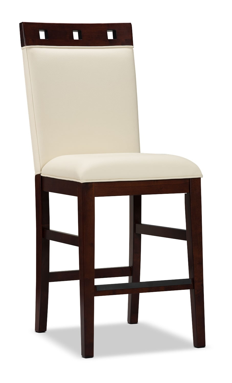 Zeno Counter-Height Dining Chair – Wood Top