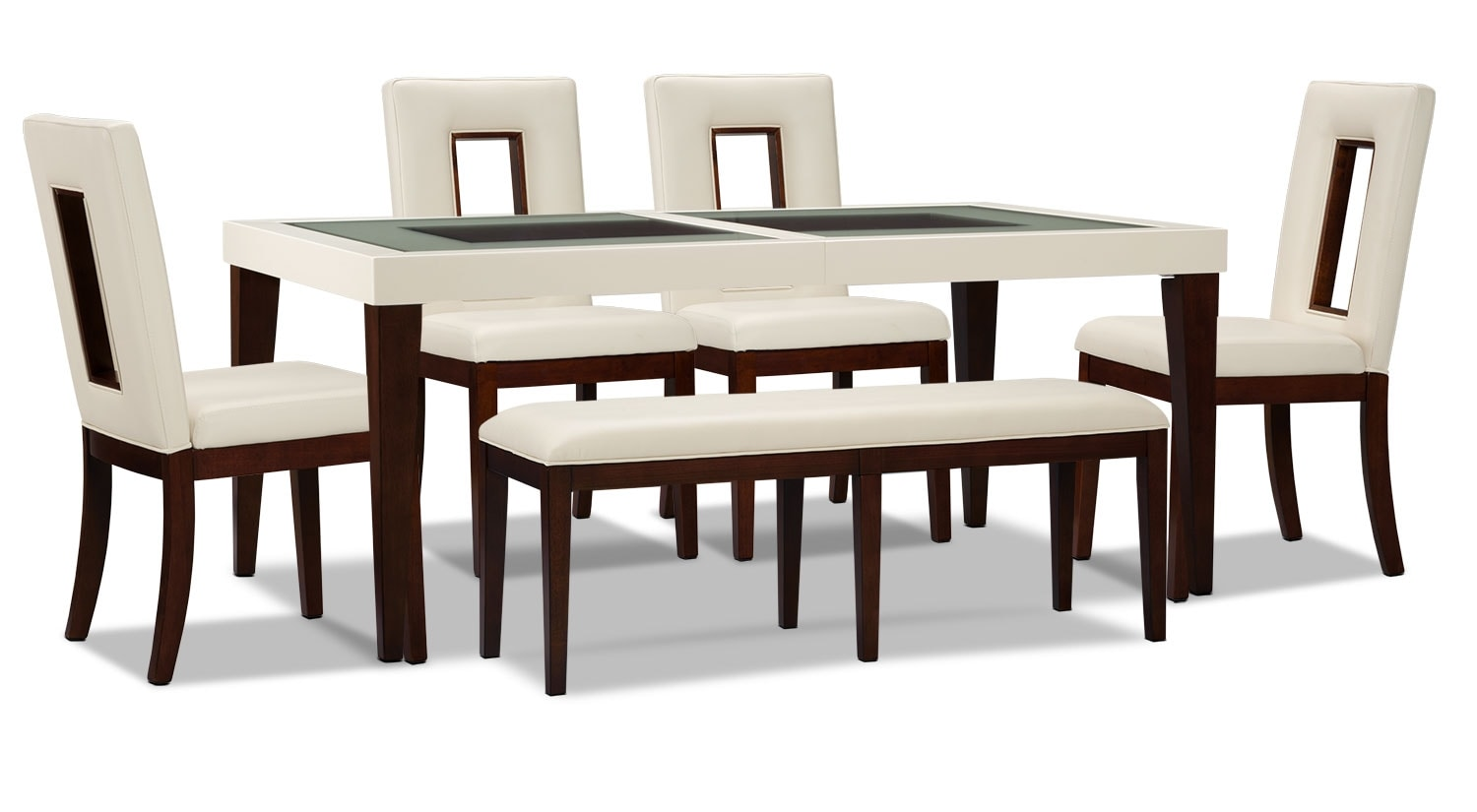 Dining Room Furniture - Zenoe 6-Piece Dining Package