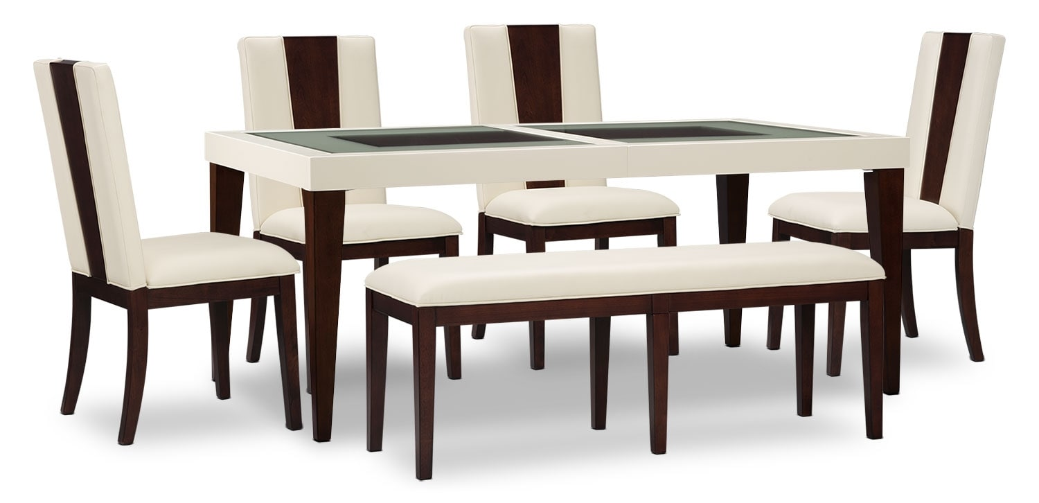 Dining Room Furniture - Zeno 6-Piece Dining Package