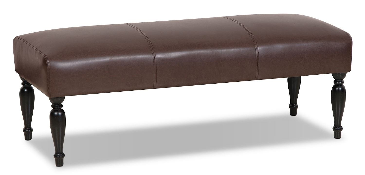 Accent and Occasional Furniture - Halden Bench - Brown