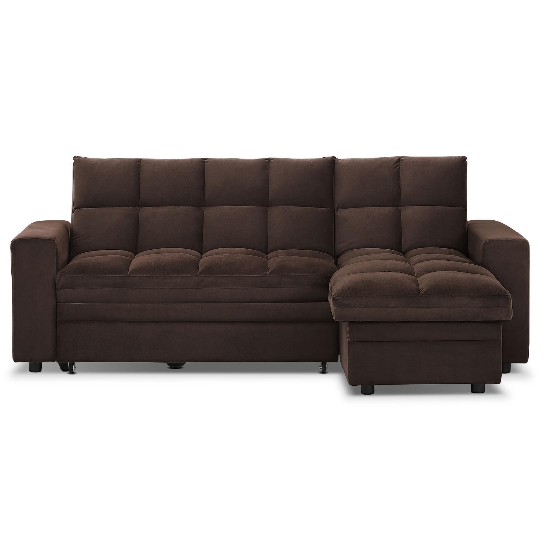 Brookline Queen Innerspring Sleeper Sofa | Value City ... |Sofa Bed Value City Furniture