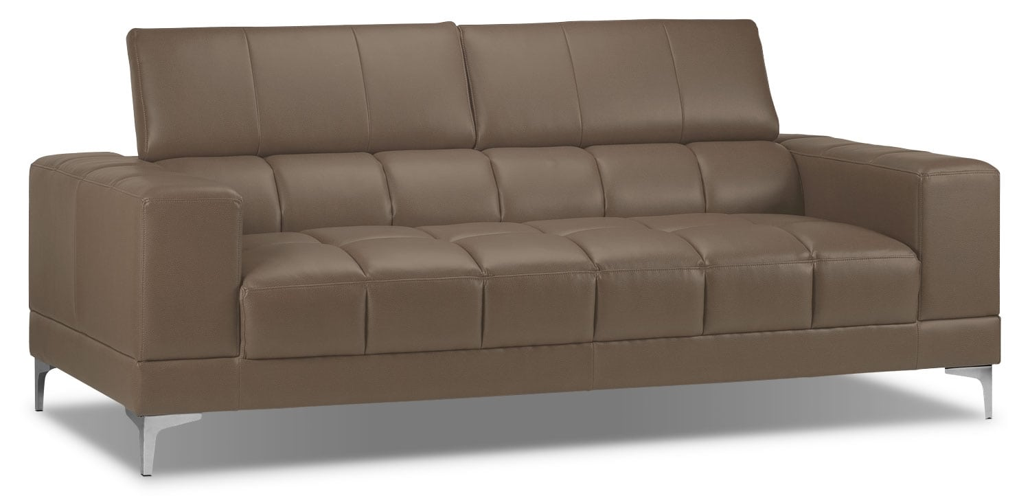 Living Room Furniture - Bel-Air Sofa - Mineral