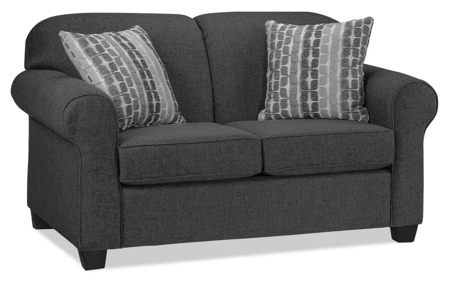 Aristotle Loveseat - Graphite