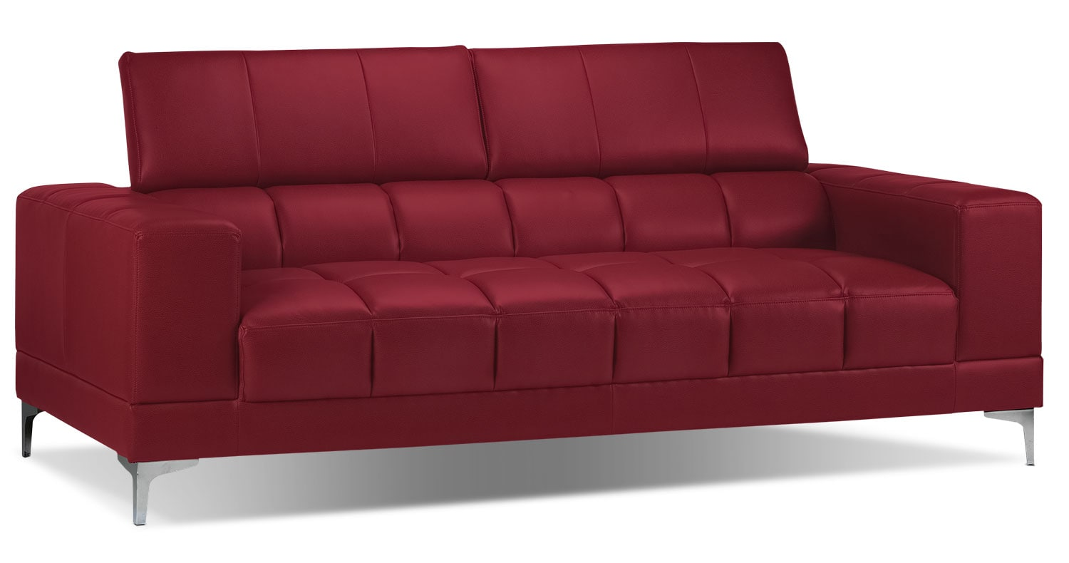 [Bel-Air Sofa - Red]