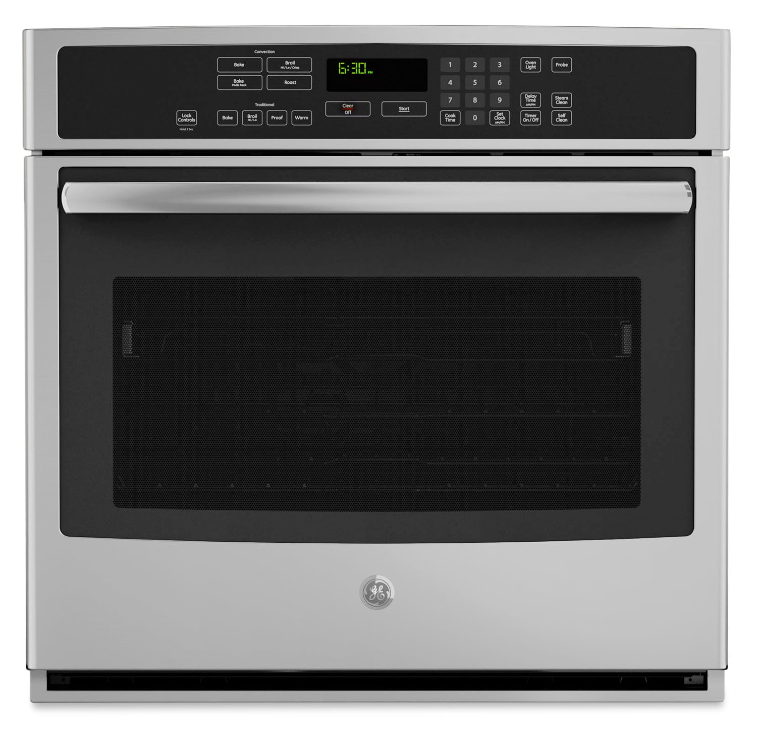 Cooking Products - GE 5.0 Cu. Ft. Electric Single Wall Oven – Stainless Steel
