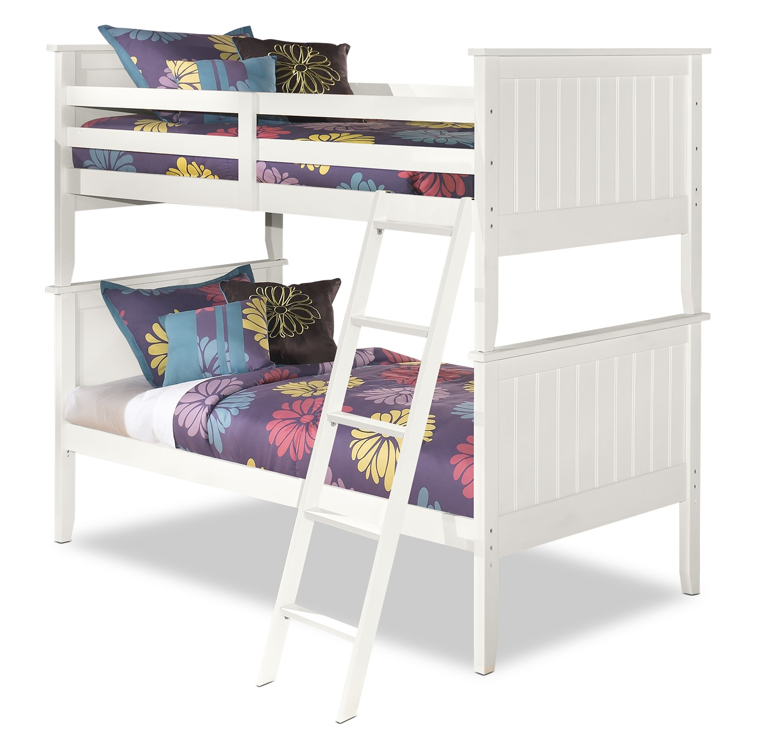 Kids Furniture - Lulu Twin Bunk Bed
