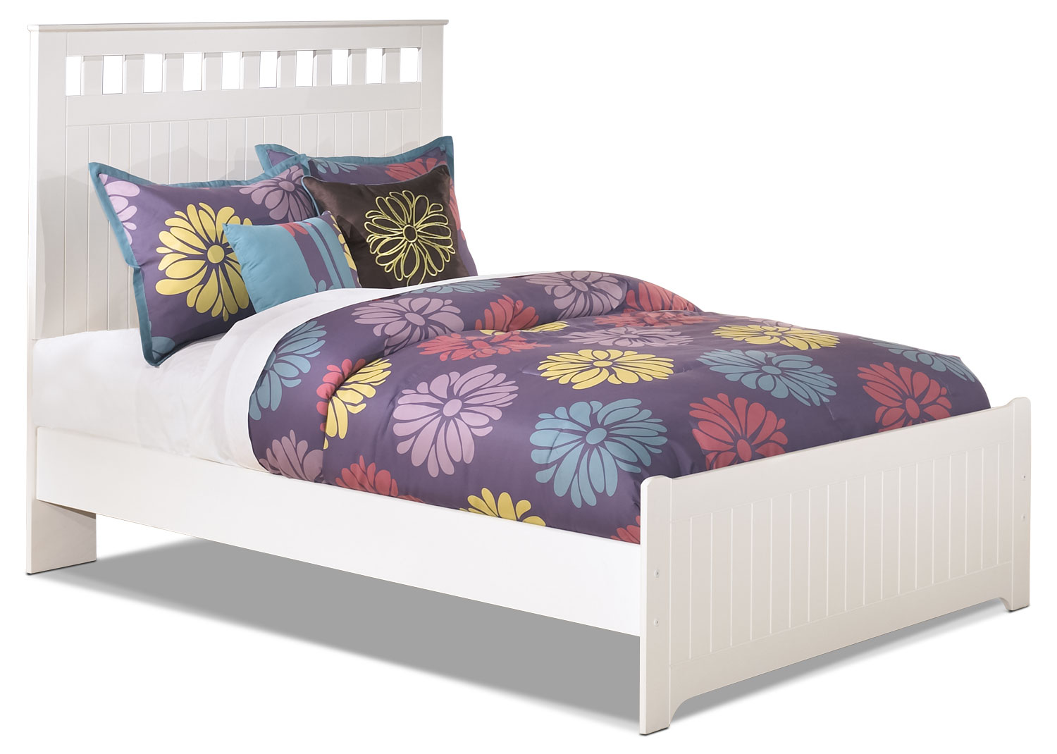 Kids Furniture - Lulu Full Panel Bed