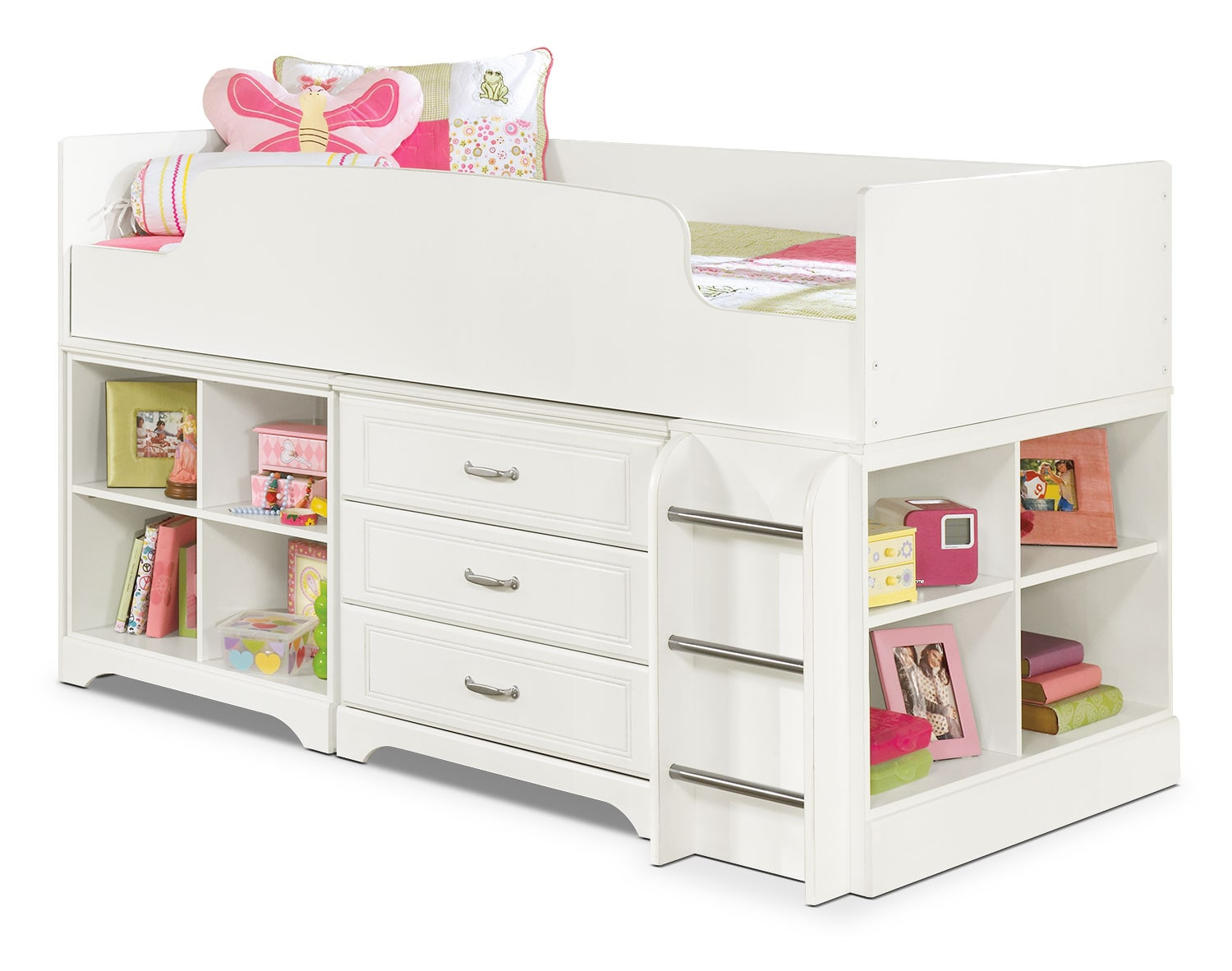 Kids Furniture - Lulu Twin Loft Bed
