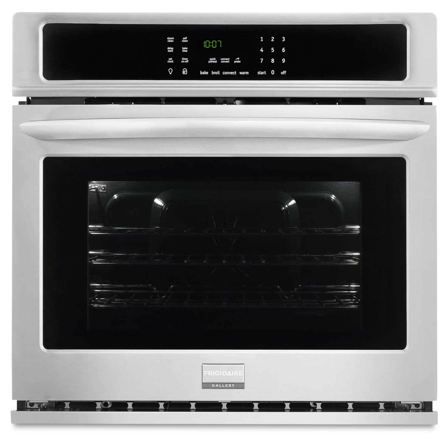 Cooking Products - Frigidaire Gallery 4.6 Cu. Ft. Single Wall Oven – Stainless Steel