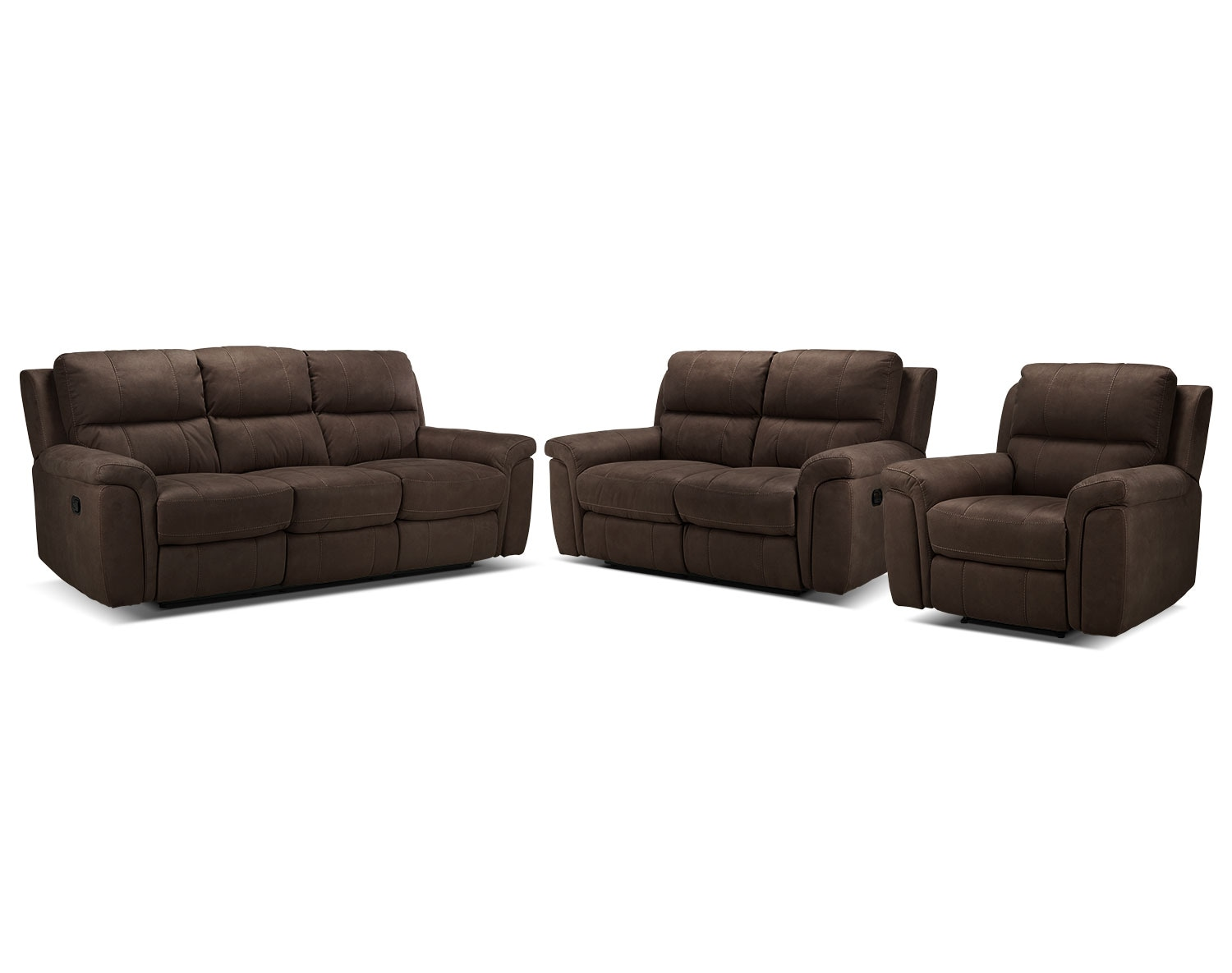 The Roarke Living Room Collection - Walnut
