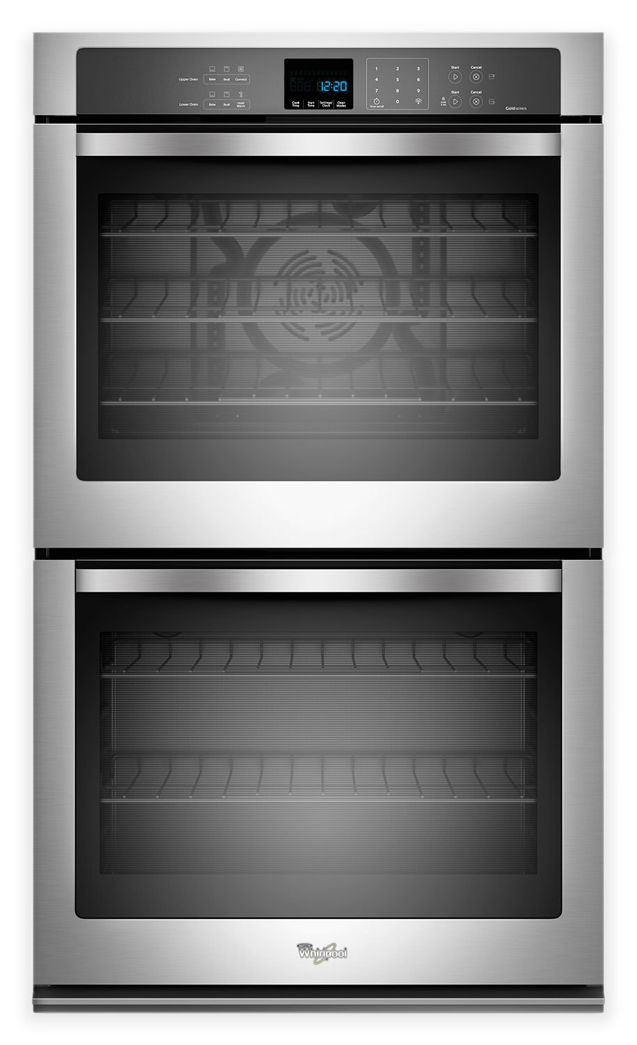 Whirlpool Gold® 10 Cu. Ft. Double Wall Oven – Stainless Steel