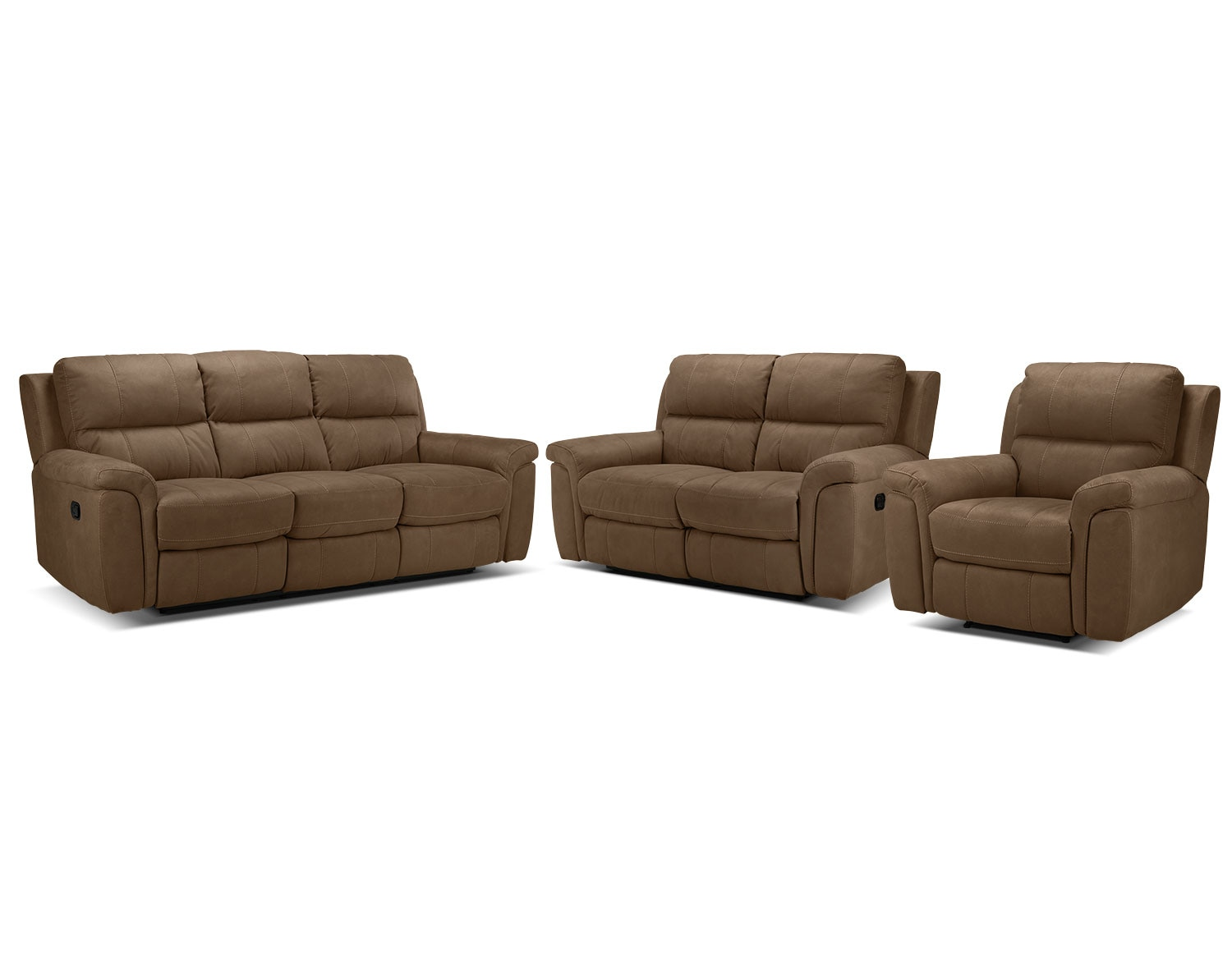 The Roarke Living Room Collection - Tobacco
