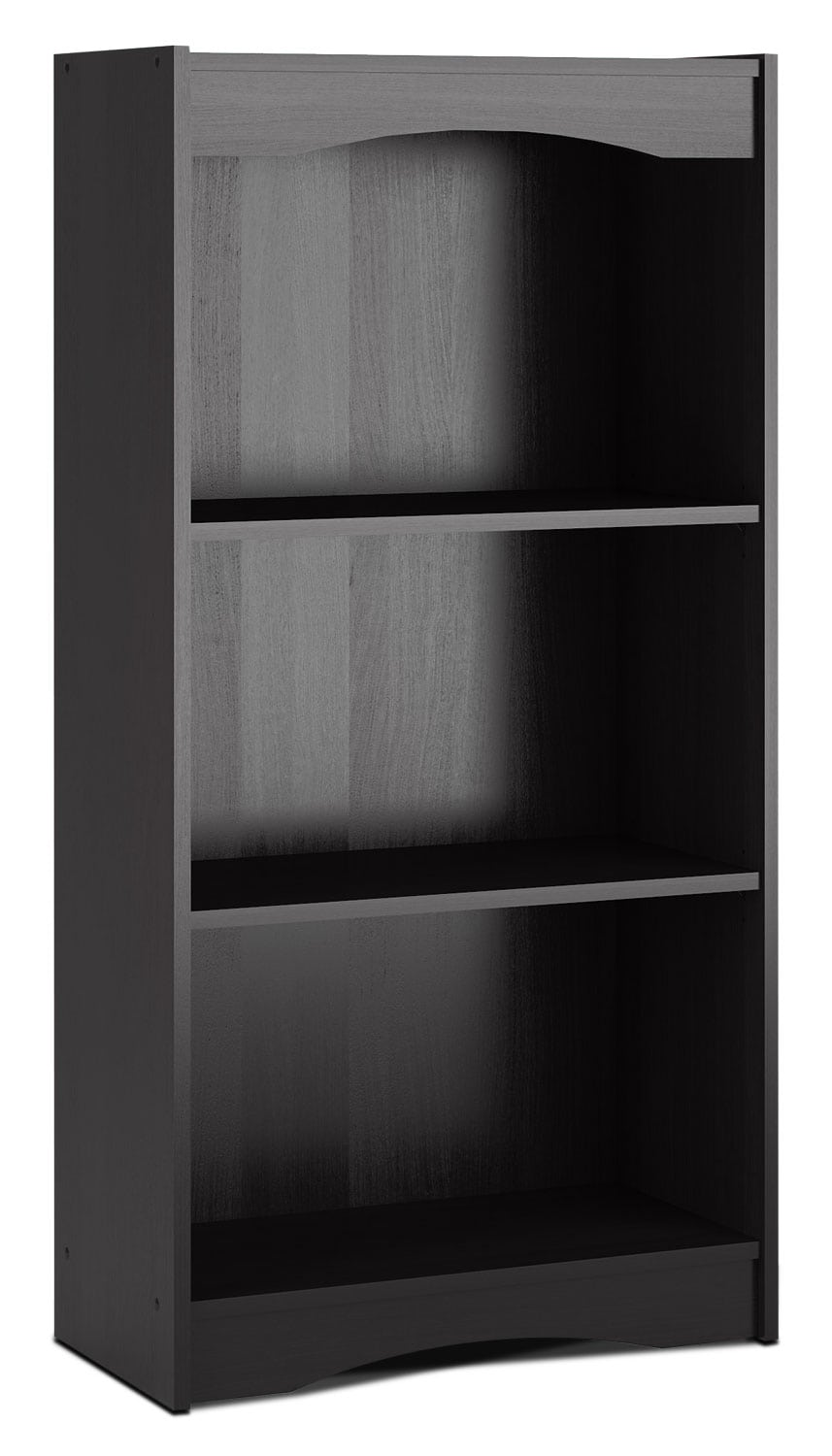 "Hawthorn 48"" Bookcase – Midnight Black"