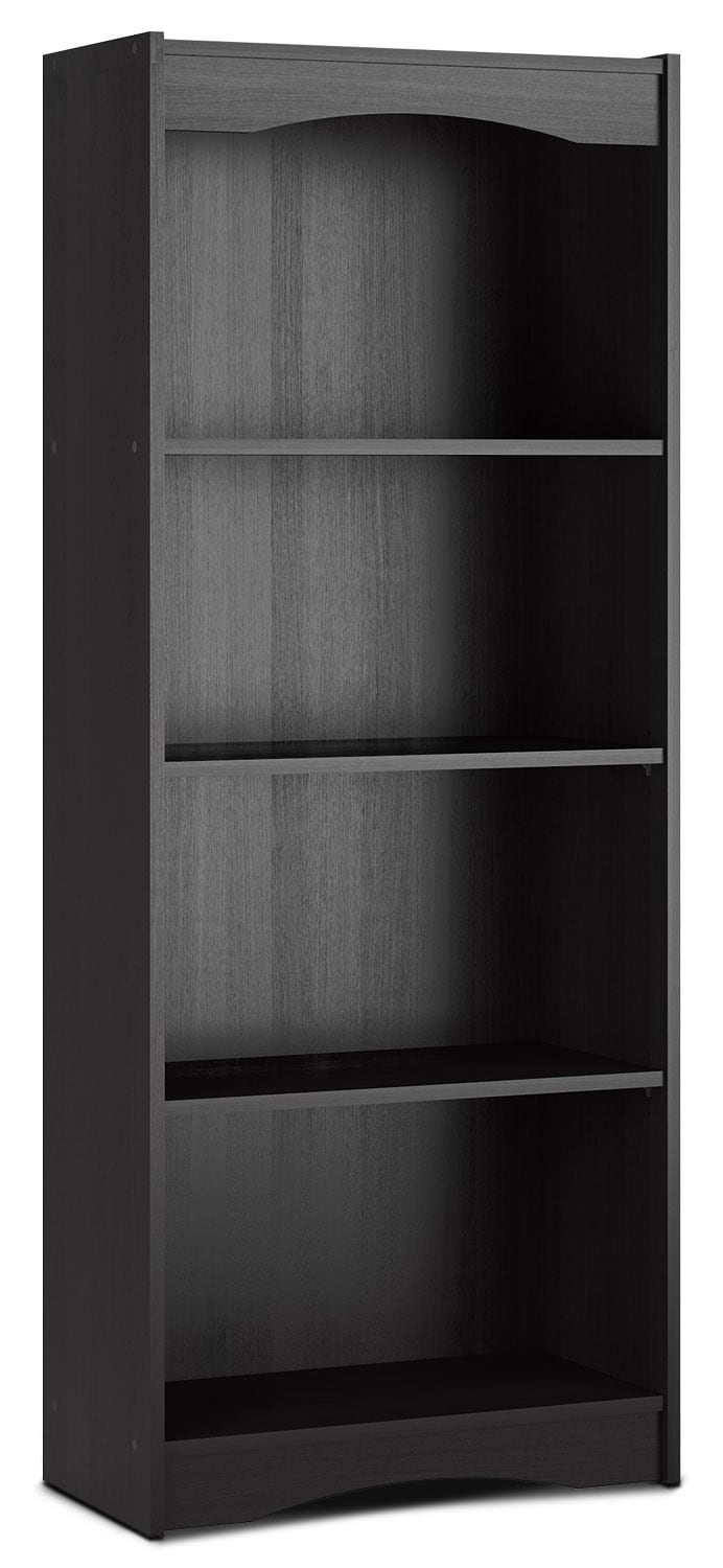"Home Office Furniture - Hawthorn 60"" Bookcase – Midnight Black"