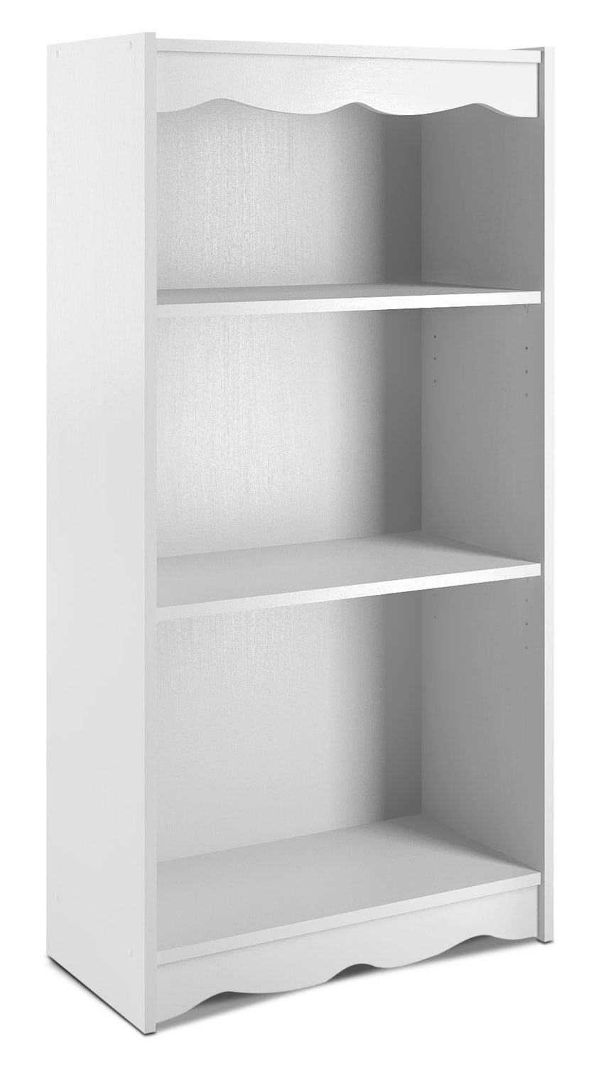 "Home Office Furniture - Hawthorn 48"" Bookcase – Frost White"