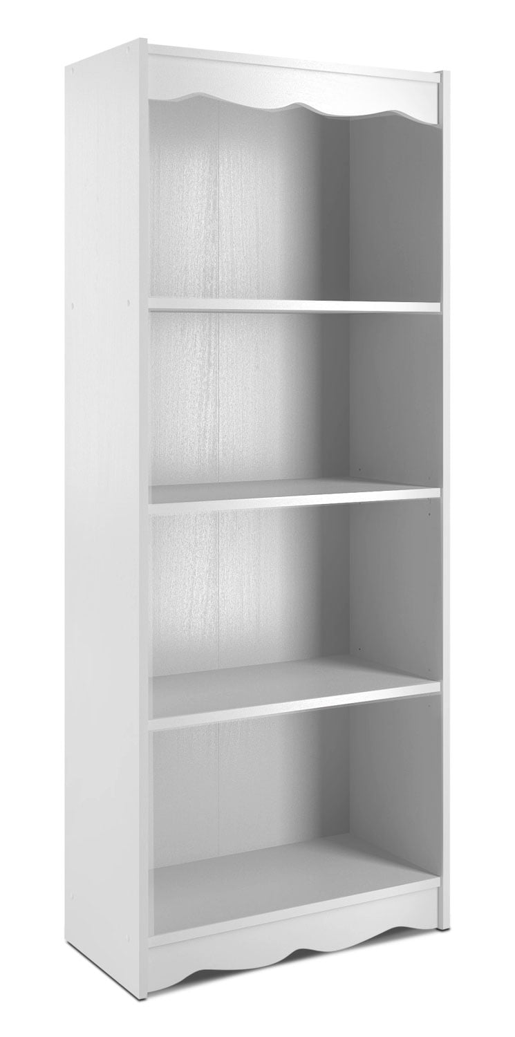 "Hawthorn 60"" Bookcase – Frost White"