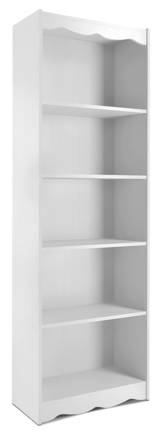 "Hawthorn 72"" Bookcase – Frost White"