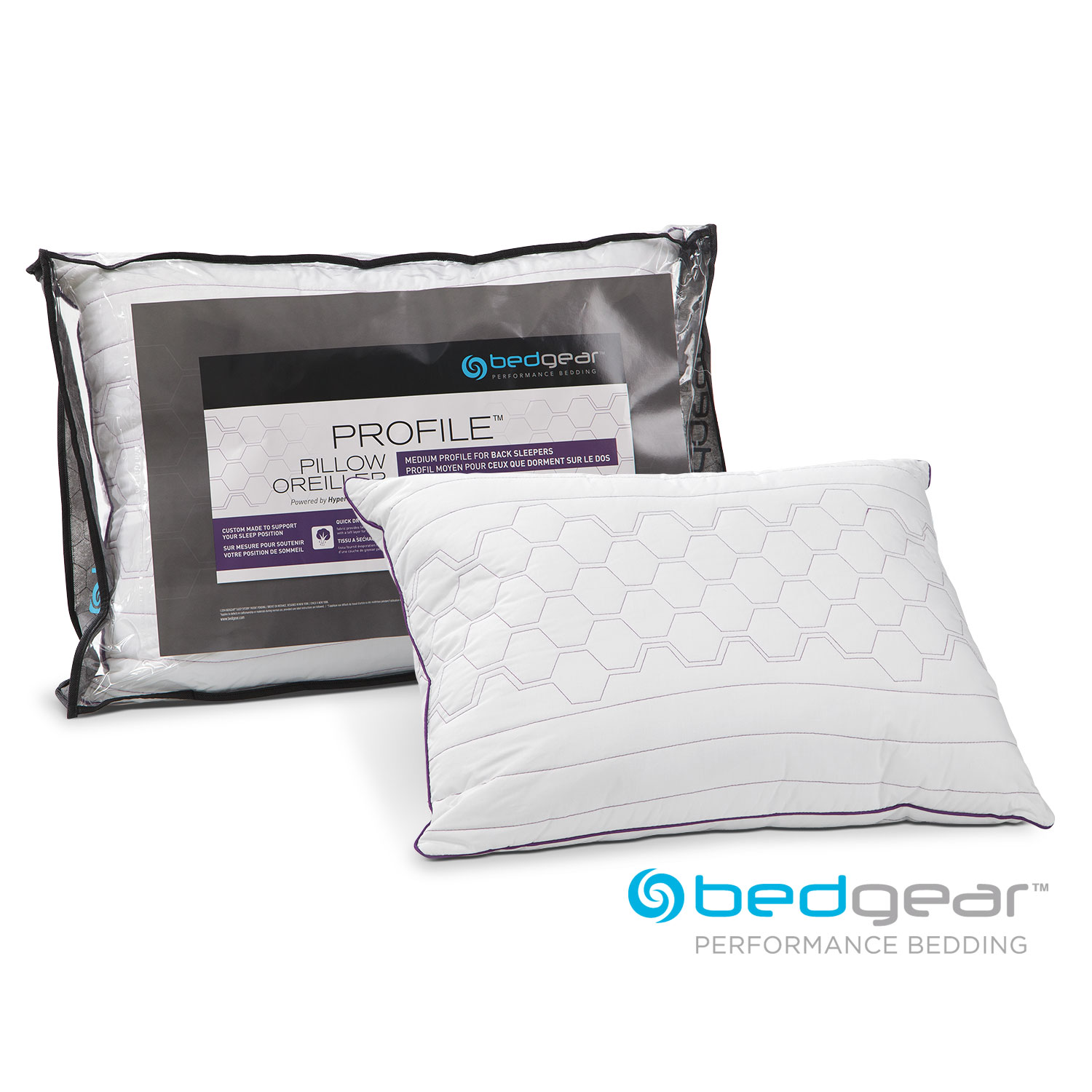 [Queen Profile Pillow for Back Sleepers]