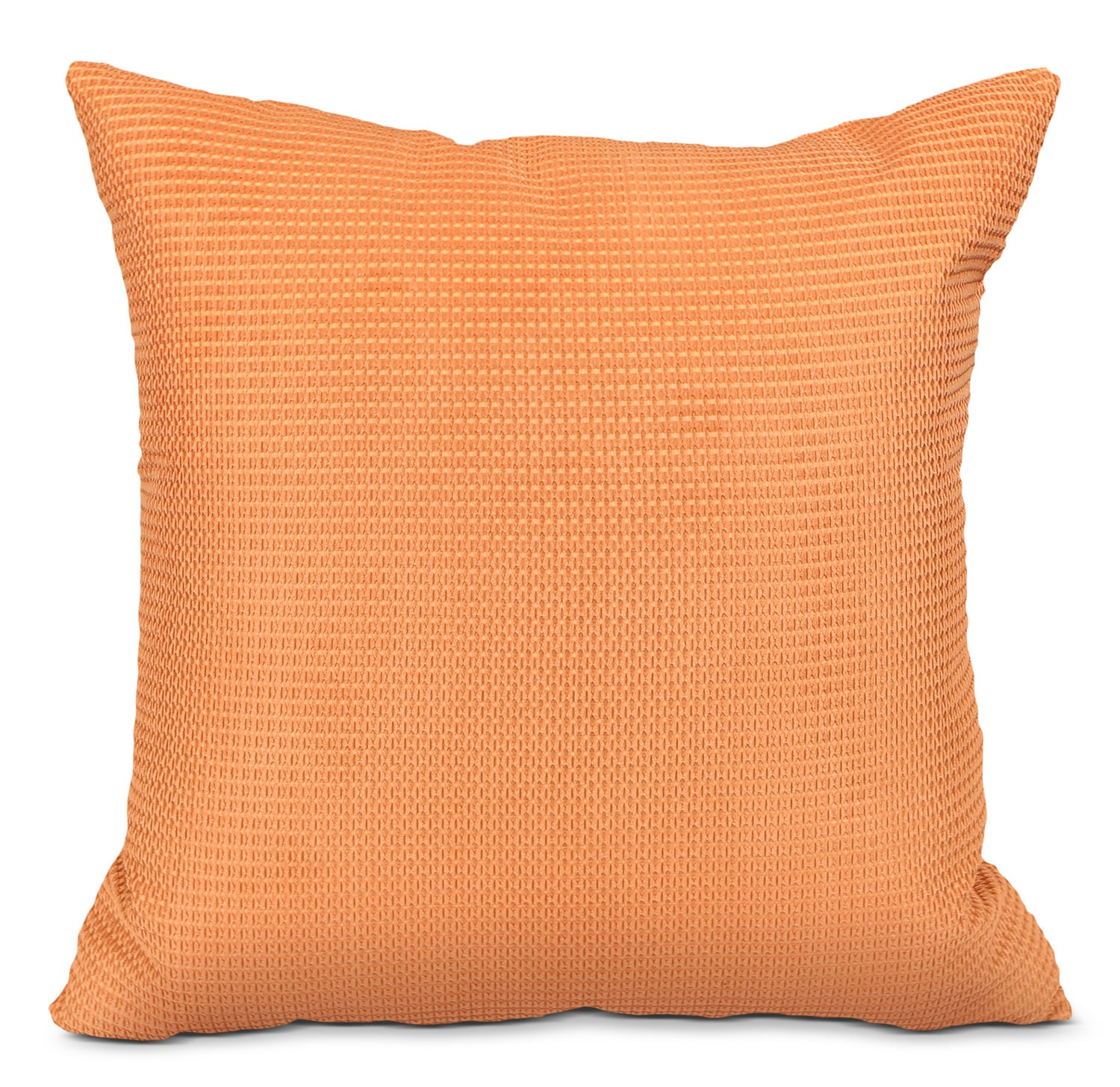 Accent and Occasional Furniture - Zip Accent Pillow – Orange
