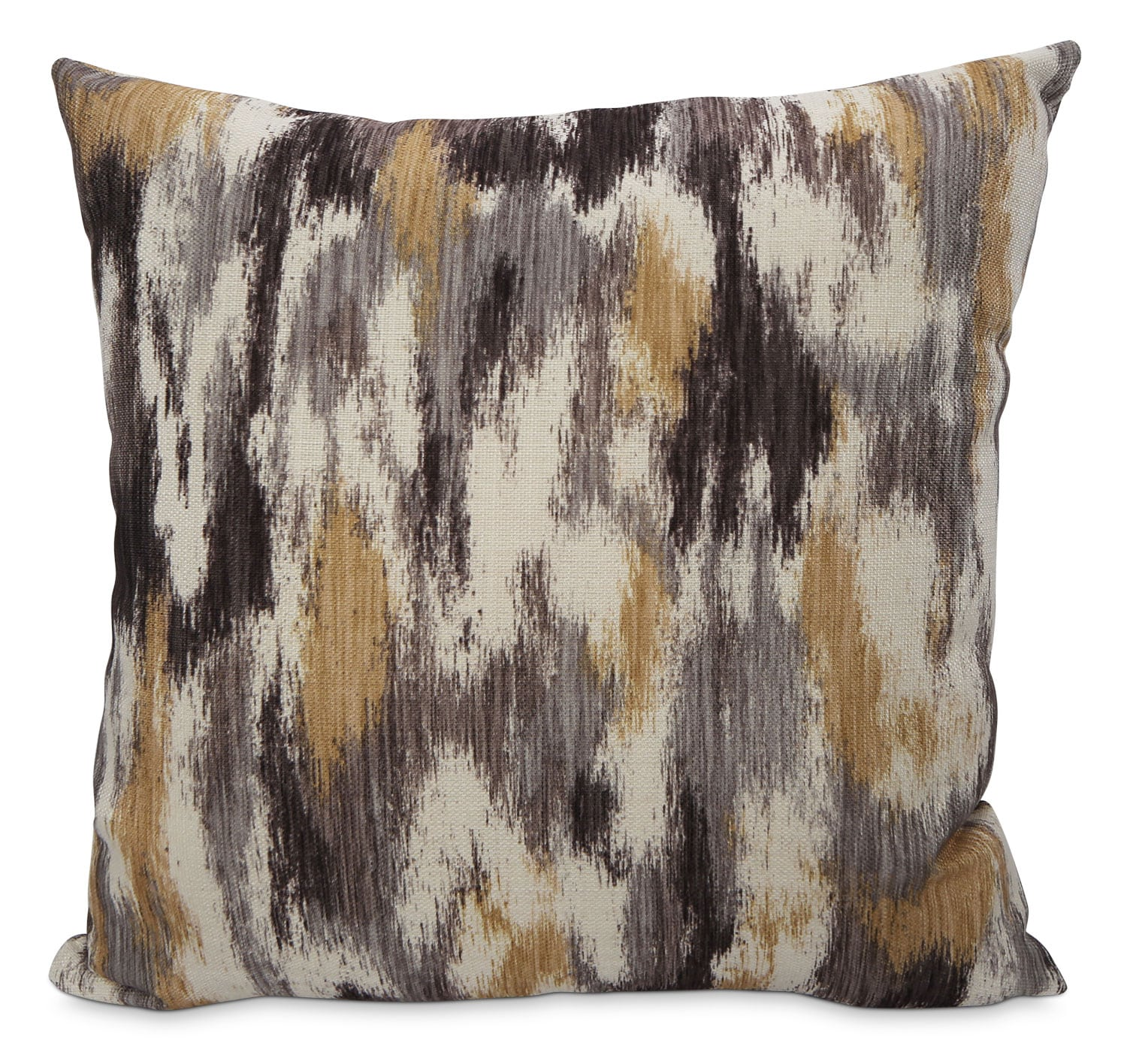 Accent and Occasional Furniture - Rain Accent Pillow – Grey, Yellow and Ivory