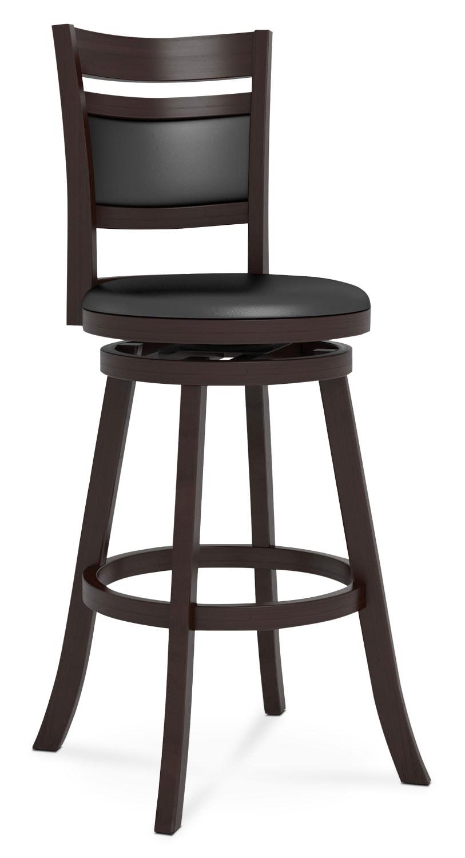 "Dining Room Furniture - Woodgrove Cushion-Back 43"" Barstool"