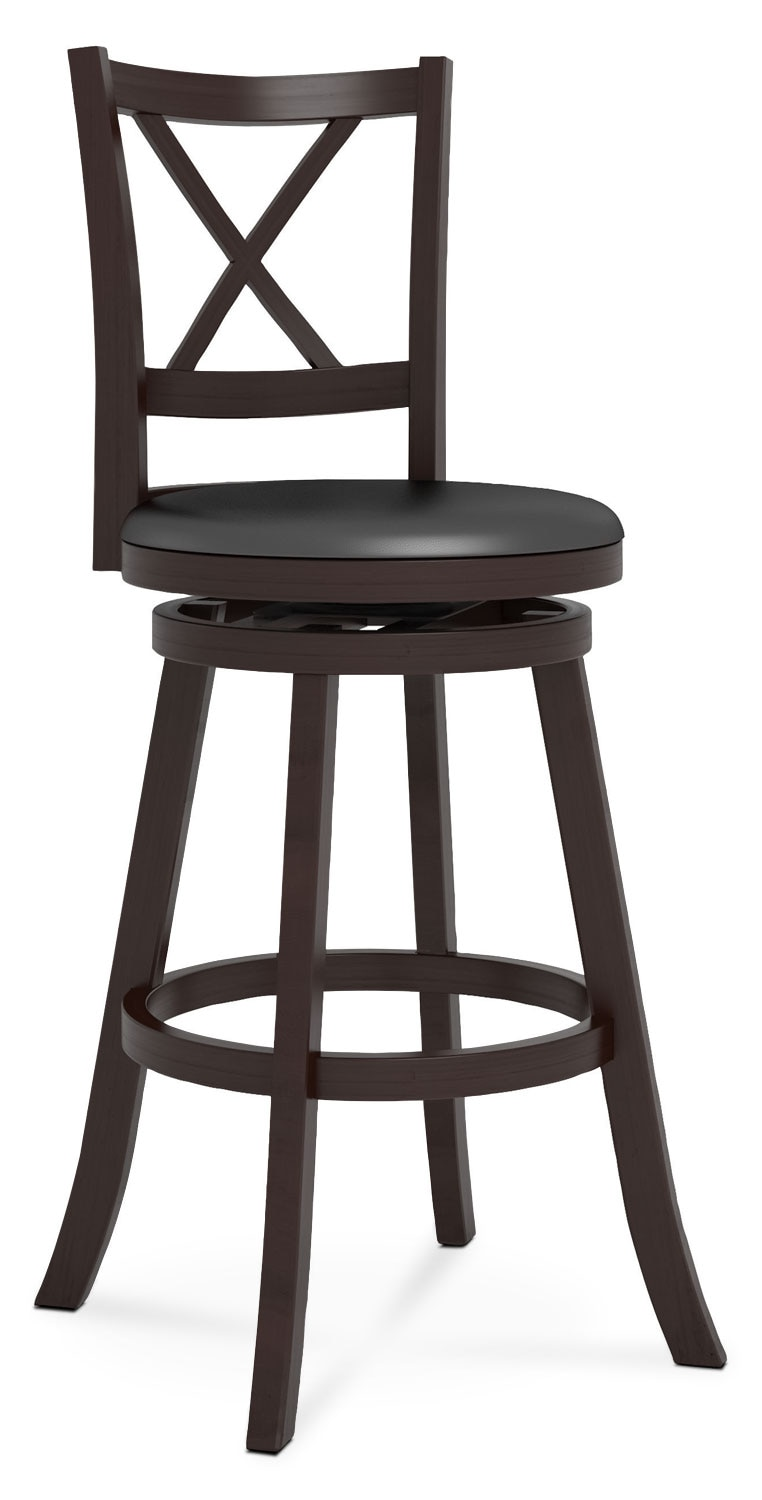 "Dining Room Furniture - Woodgrove Cross-Back 43"" Barstool"