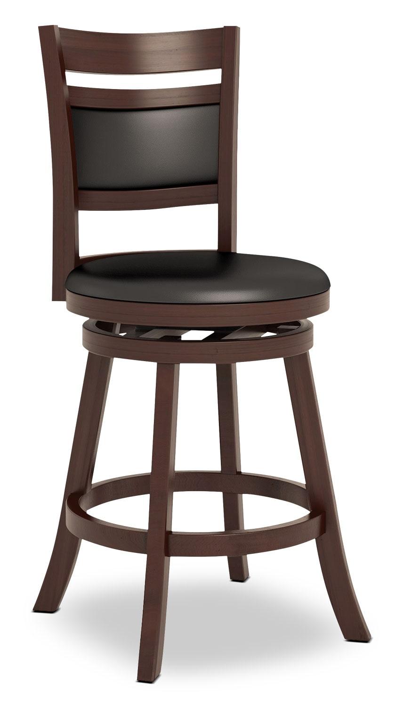 "Dining Room Furniture - Woodgrove 38"" Barstool - Cushion Back"